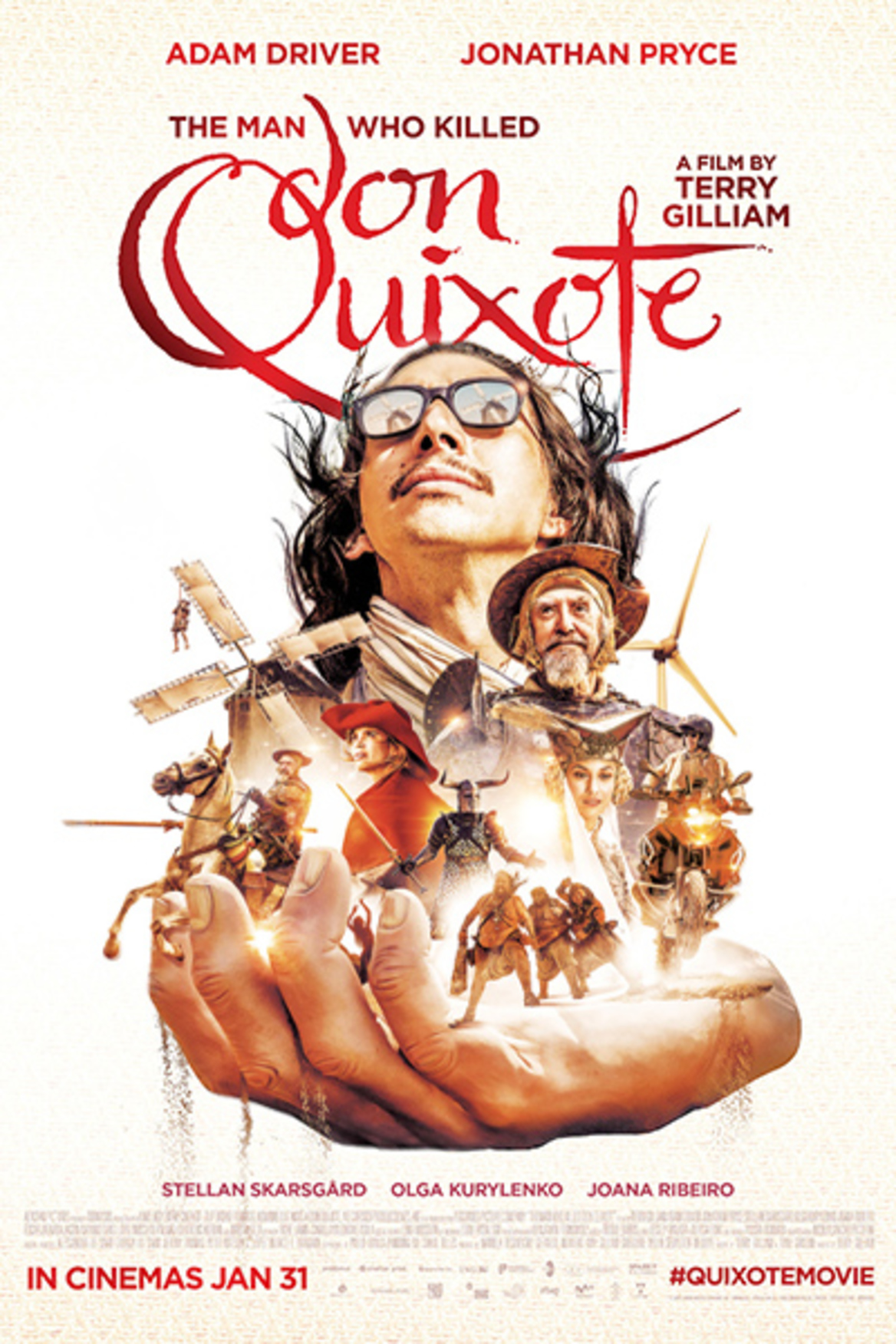 Image result for the man who killed don quixote poster""